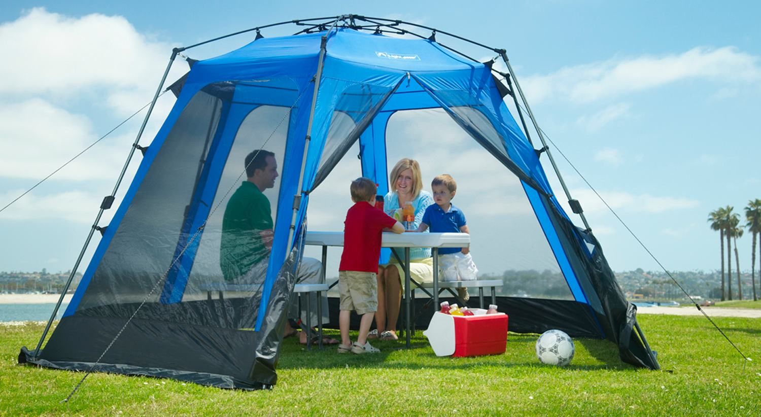 LightSpeed Outdoors TENTS BLACK and BLUE & LightSpeed Outdoors TENTS BLACK and BLUE NYFastFurniture
